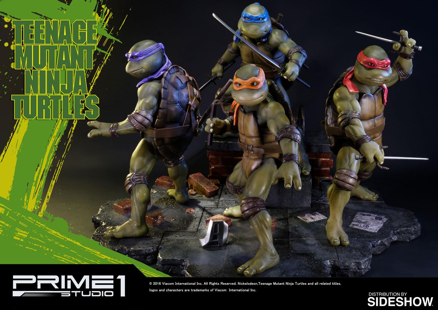TMNT Teenage Mutant Ninja Turtles Polystone Statue By Prime