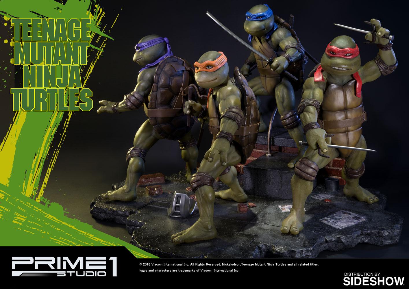 TMNT Teenage Mutant Ninja Turtles Polystone Statue by Prime | Sideshow ...