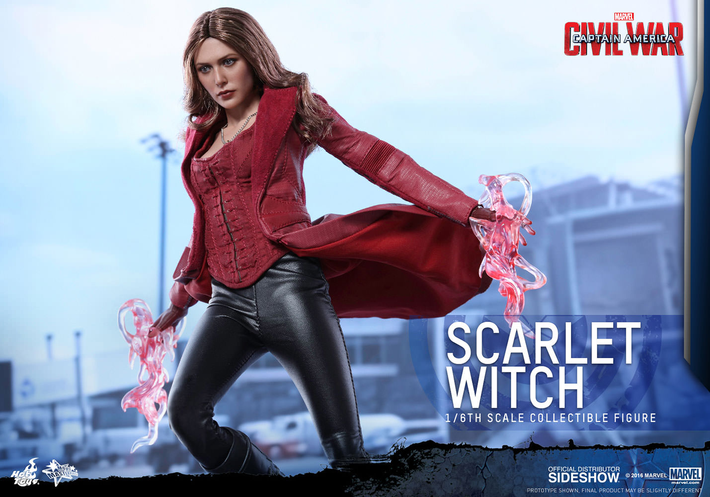 Marvel Scarlet Witch Sixth Scale Figure by Hot Toys | Sideshow ...