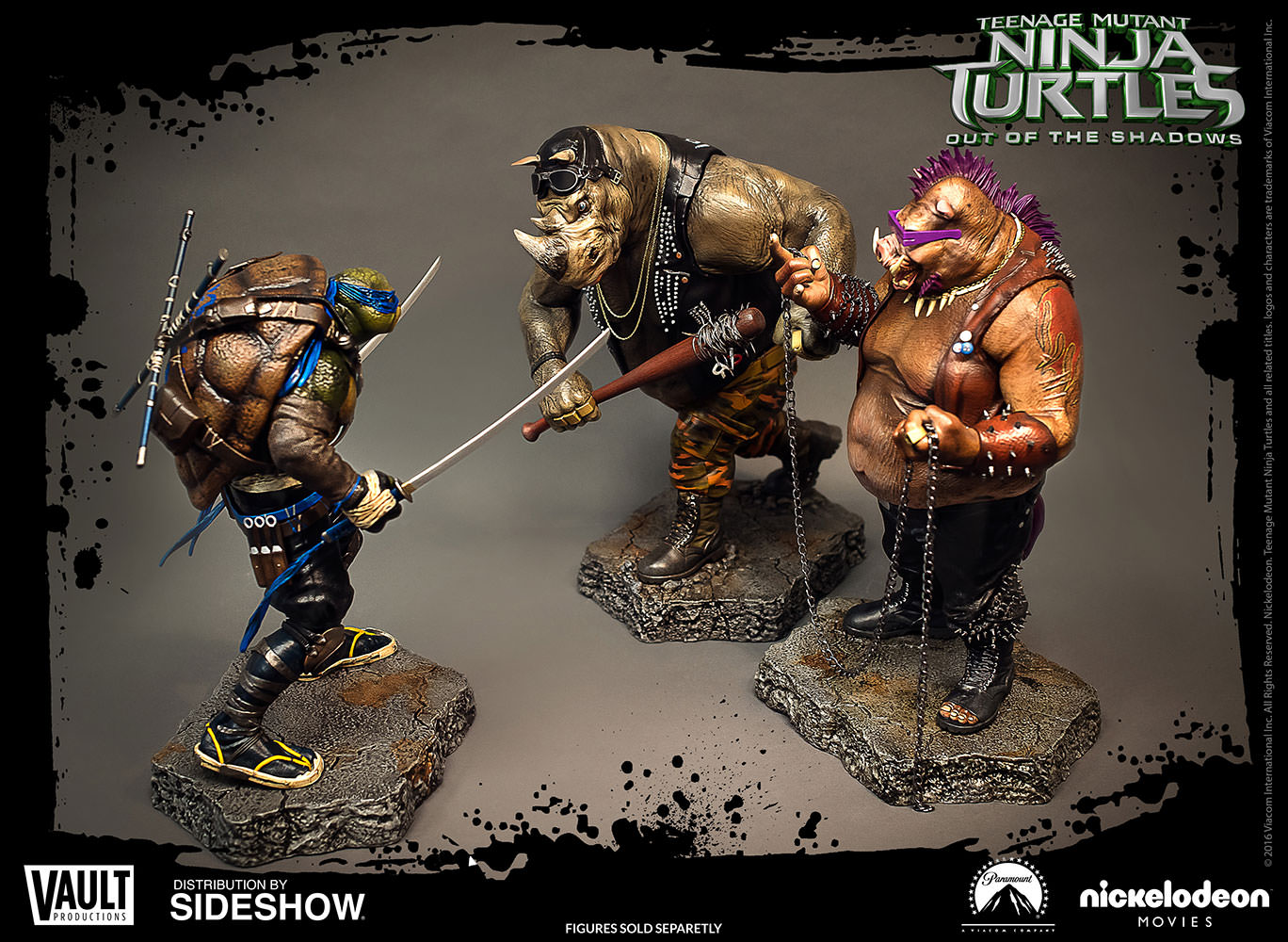 Preorders vault tmnt out of the shadows bebop for Vault production