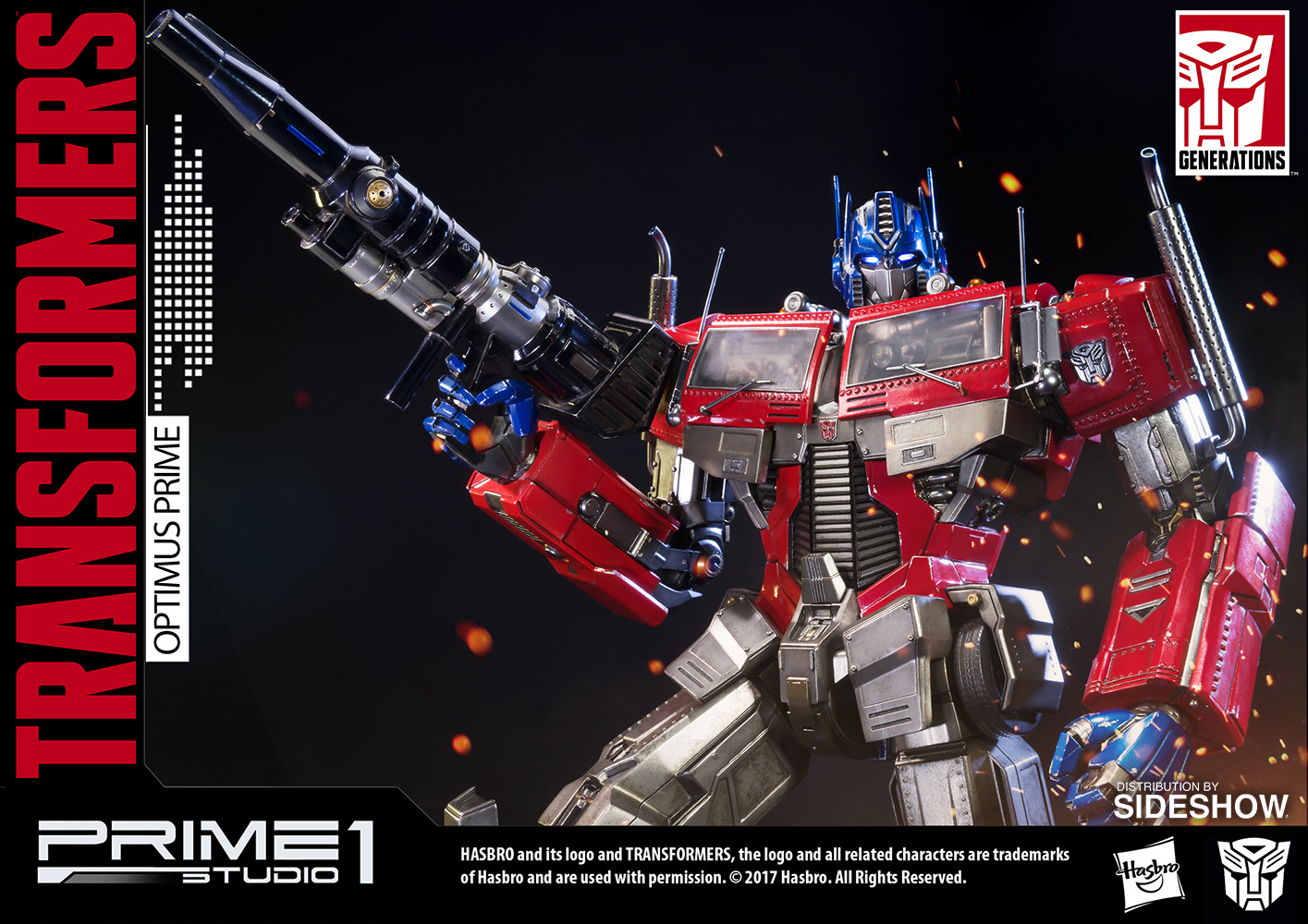 transformers optimus prime transformers generation 1 statue