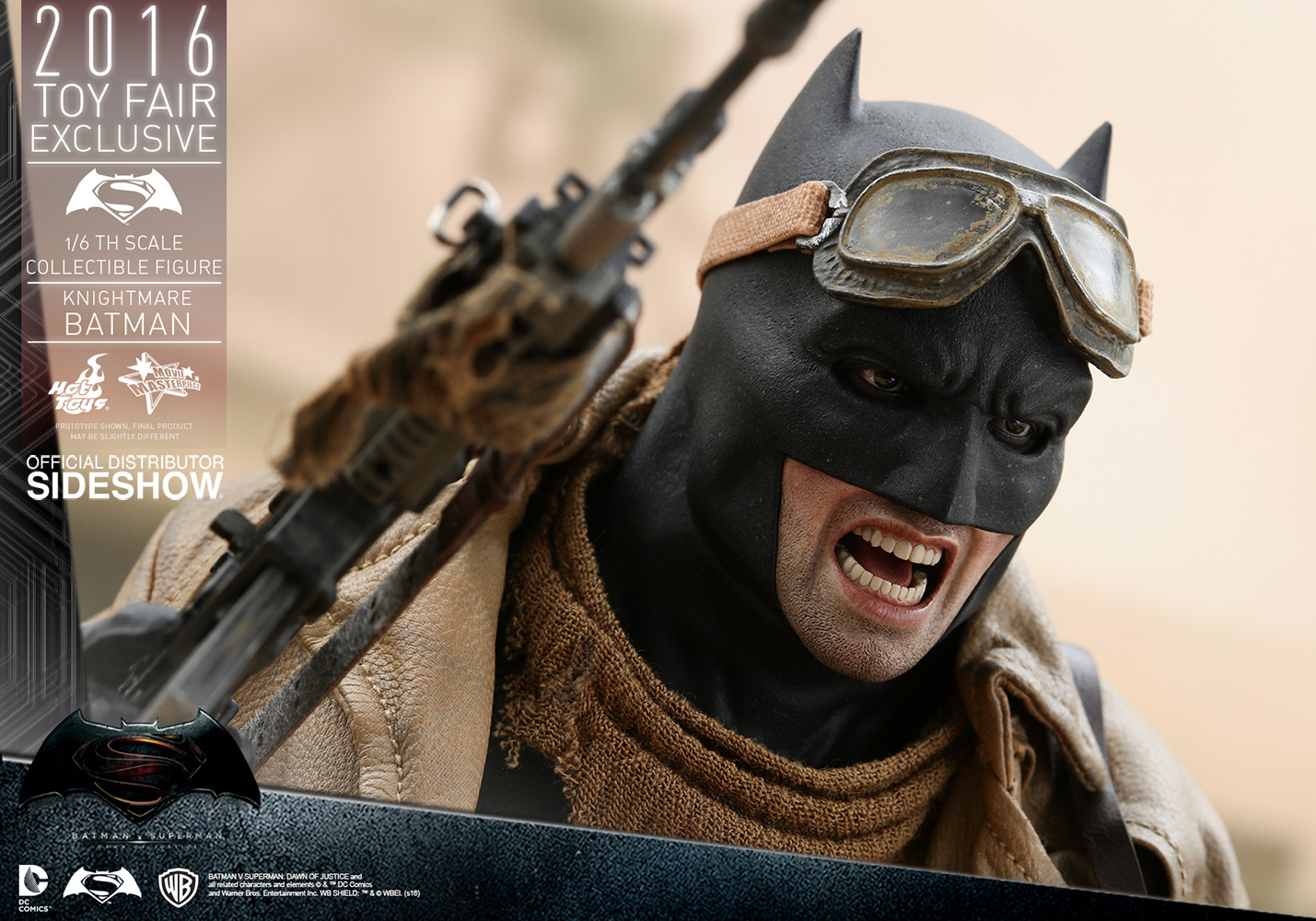 knightmare batman sixth scale figure by hot toys