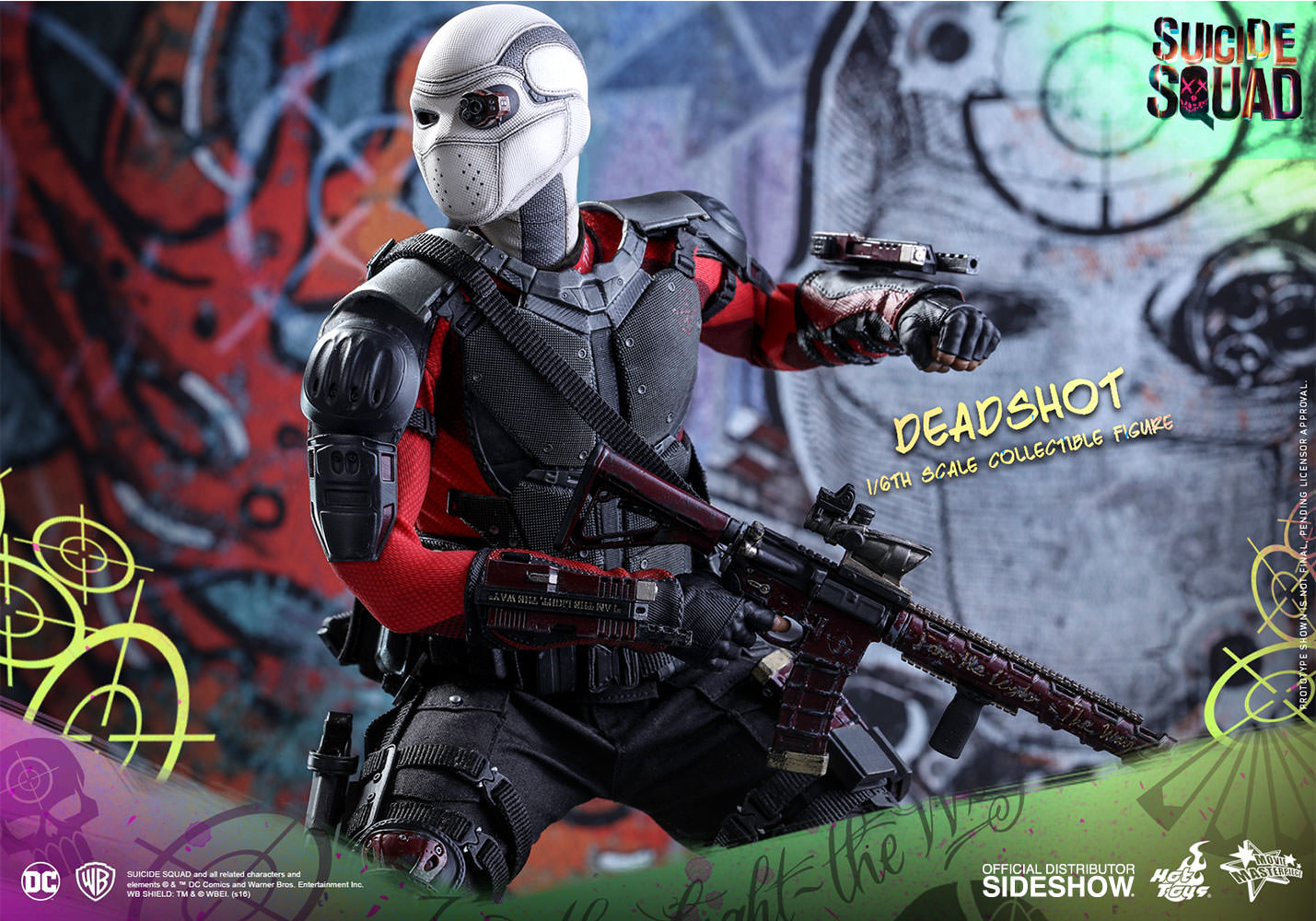 DC Comics Deadshot Sixth Scale Figure by Hot Toys ...