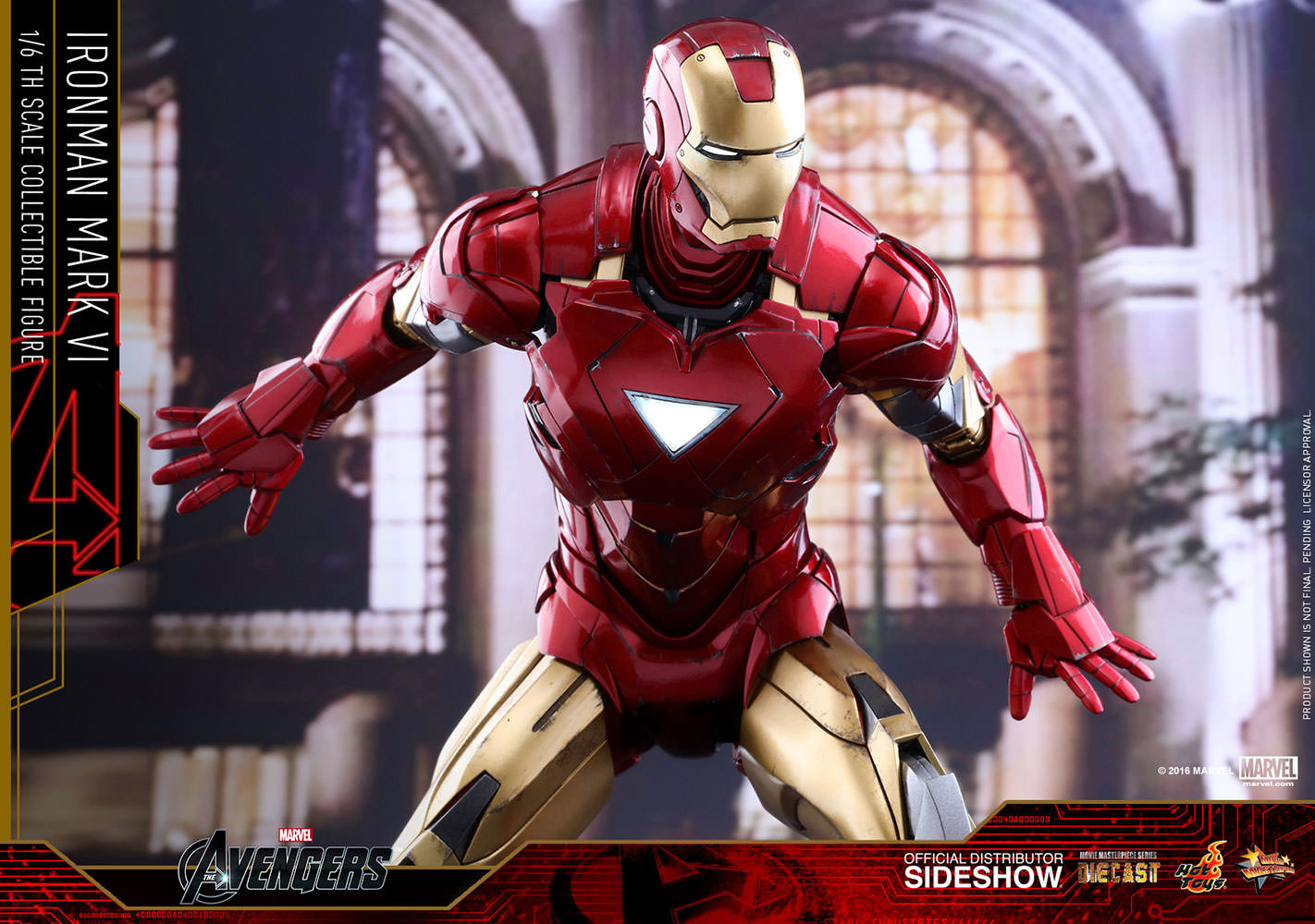 Die Cast War Machine Hot Toys Iron Man 2 Figure Shoulder Mounted Missile Launcher Jpg