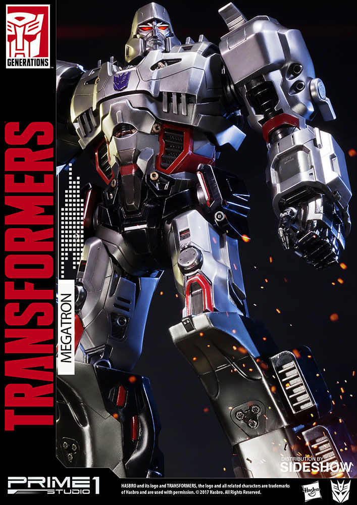 1 The Magician On Pinterest: Transformers Megatron Transformers Generation 1 Statue By