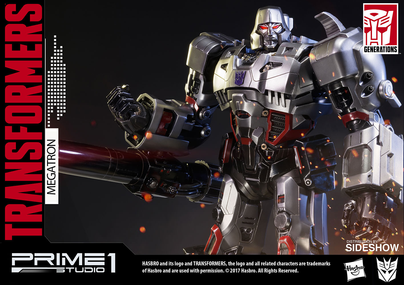 transformers megatron transformers generation 1 statuepr