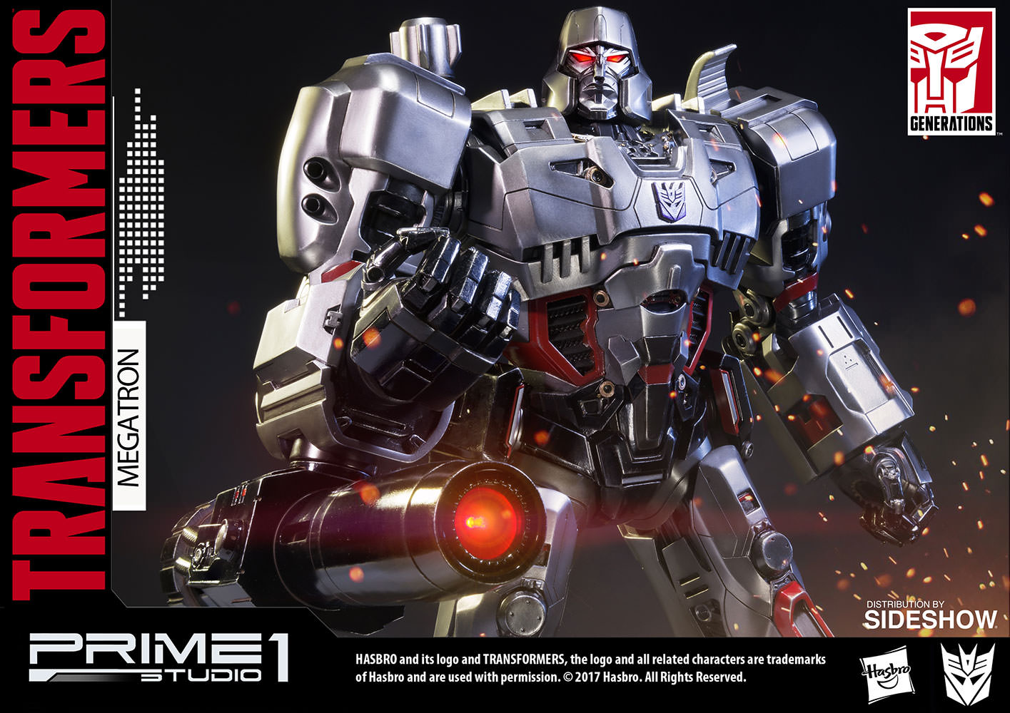 Transformers Megatron Transformers Generation 1 Statue by ...