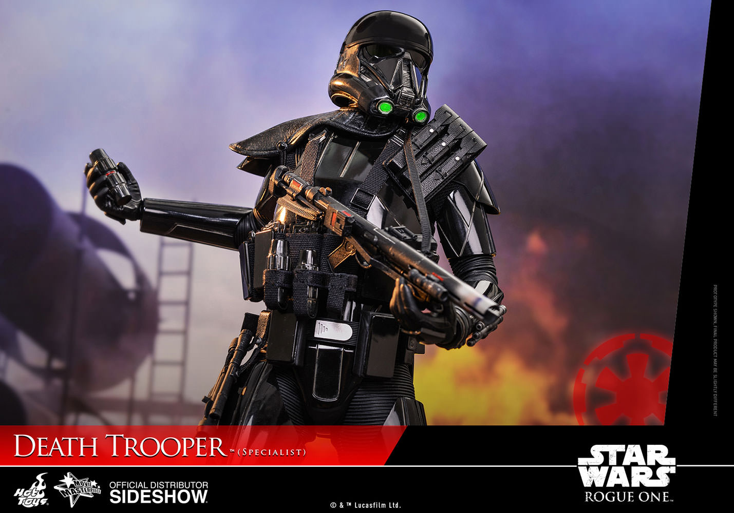 Star Wars Death Trooper Specialist Sixth Scale Figure By Hot 1 6 Toys