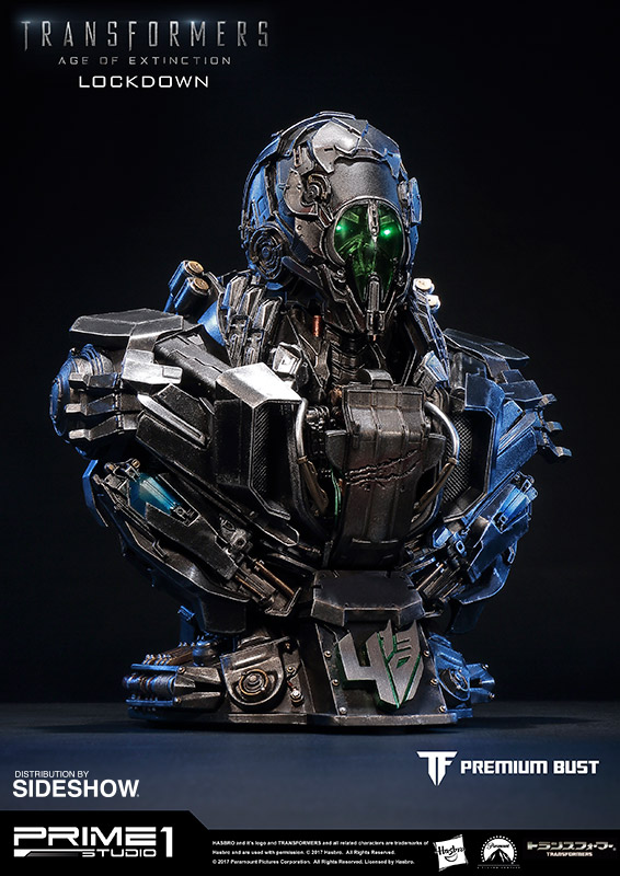transformers lockdown bust by prime 1 studio sideshow
