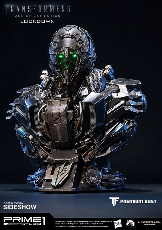 Transformers Lockdown Bust by Prime 1 Studio | Sideshow ...