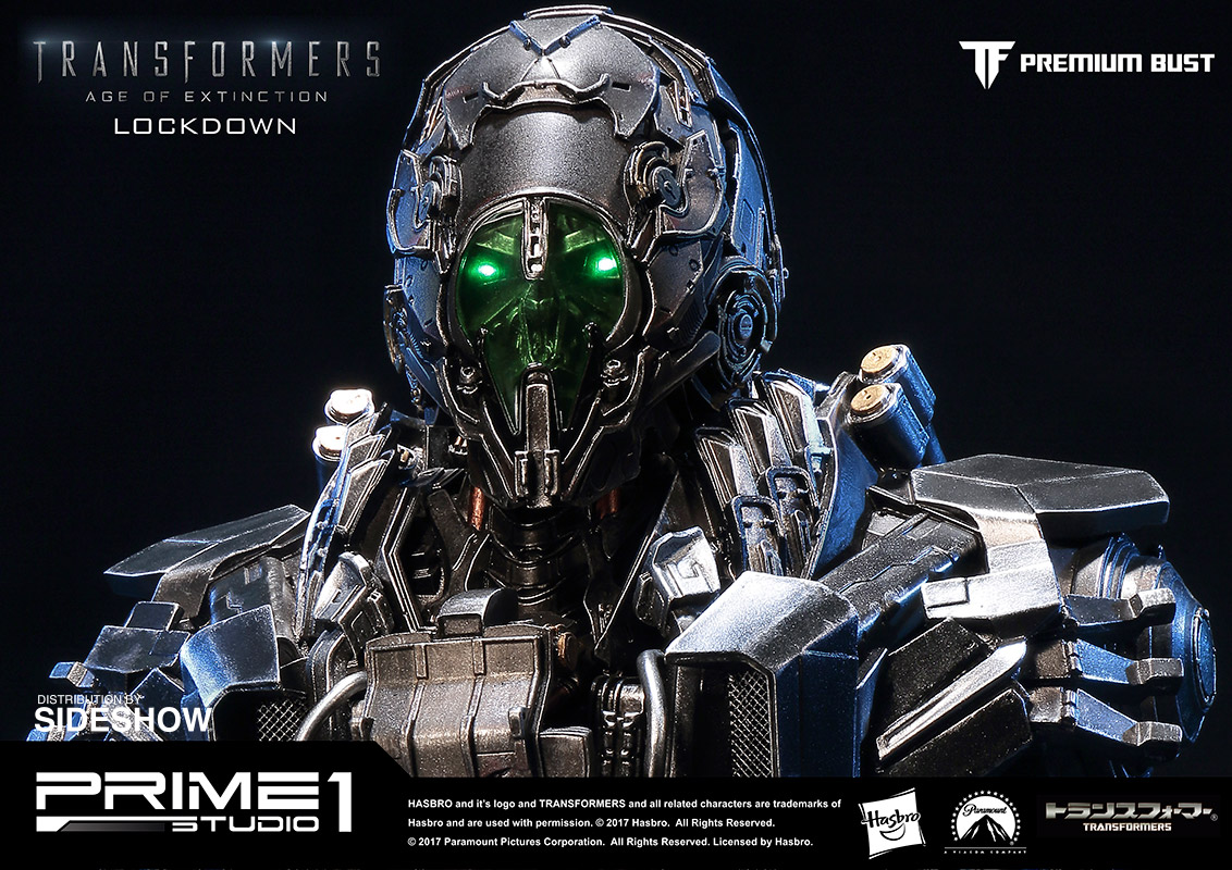 transformers lockdown bustprime 1 studio | sideshow collectibles