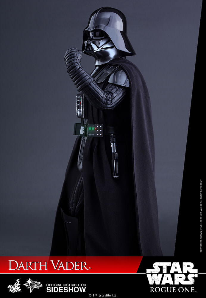 star wars darth vader sixth scale figure by hot toys sideshow