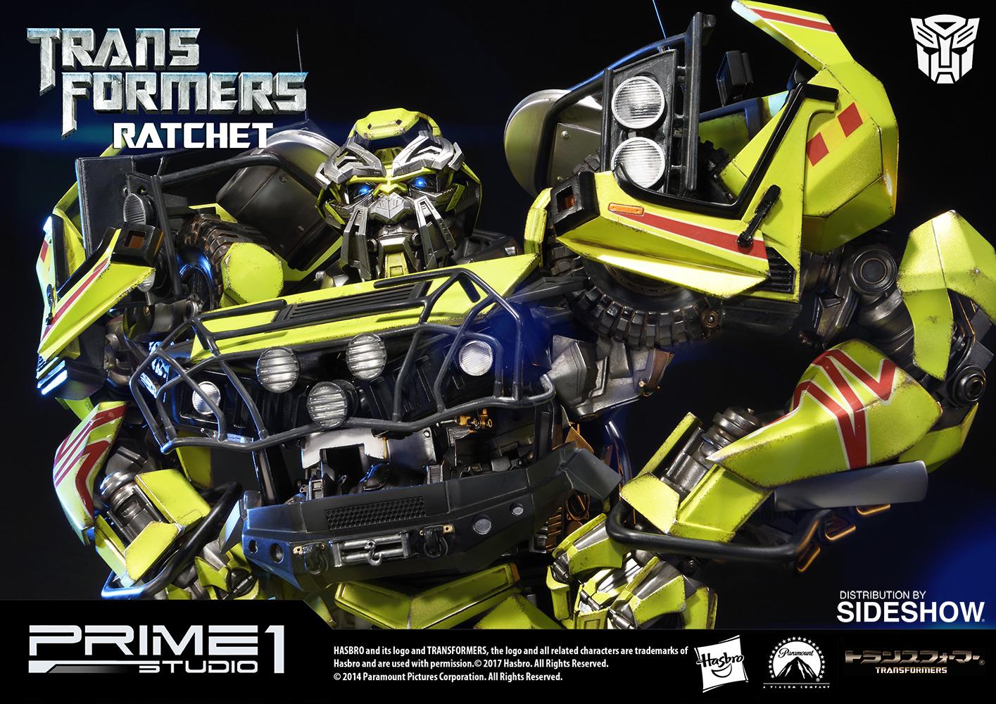 transformers ratchet polystone statueprime 1 studio | sideshow