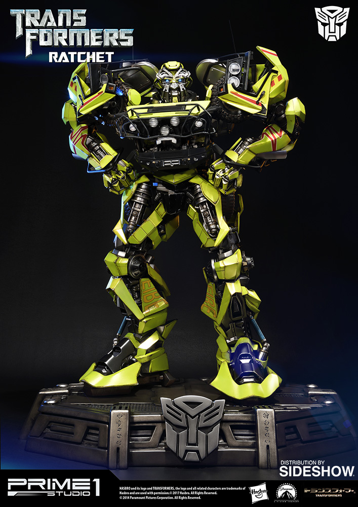 transformers ratchet polystone statue by prime 1 studio sideshow collectibles. Black Bedroom Furniture Sets. Home Design Ideas