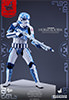 Hot Toys Stormtrooper Porcelain Pattern Version Sixth Scale Figure