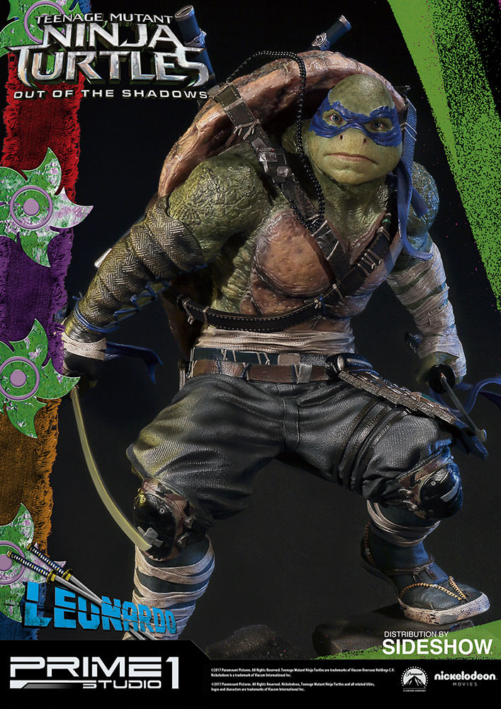 Out Of The Shadows Deviant Moon Tarot: TMNT Leonardo Statue By Prime 1 Studio