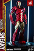 Hot Toys Iron Man Mark XV - Sneaky Retro Armor Version Sixth Scale Figure