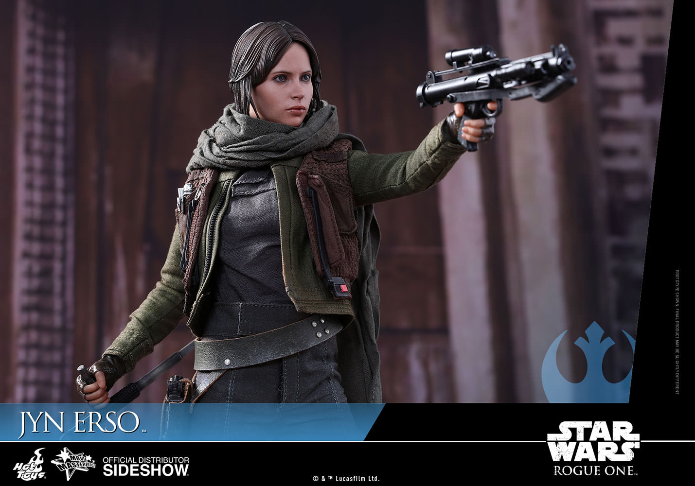 Star Wars Jyn Erso Sixth Scale Figure By Hot Toys Sideshow 1 6 Female