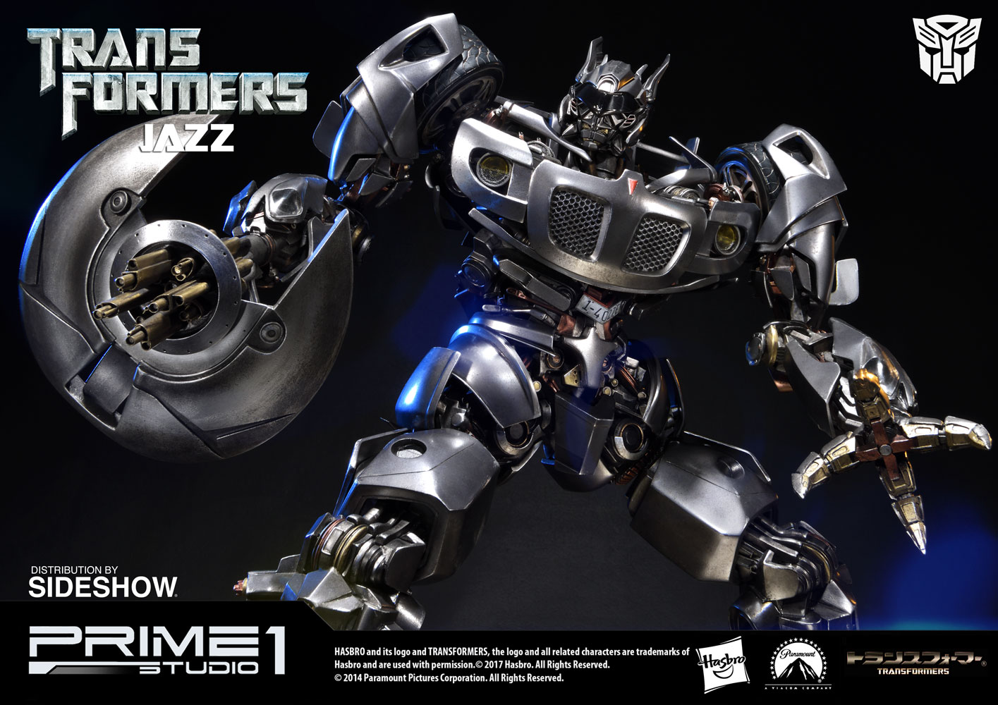 transformers jazz statueprime 1 studio | sideshow collectibles