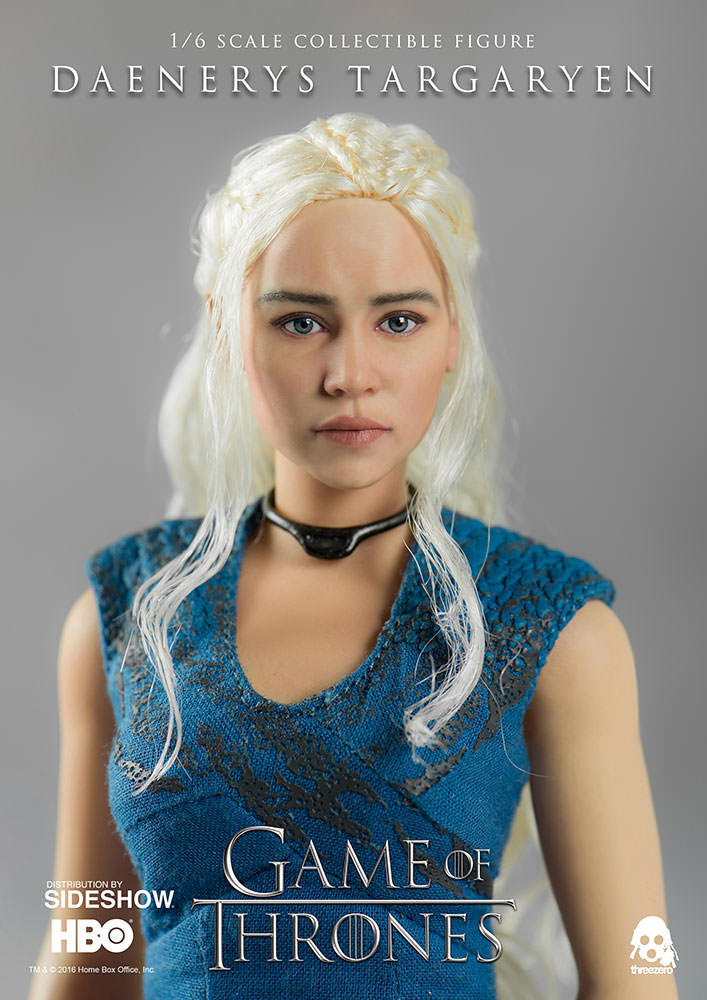 Game of Thrones Daenerys Targaryen Sixth Scale Figure by Thr ...
