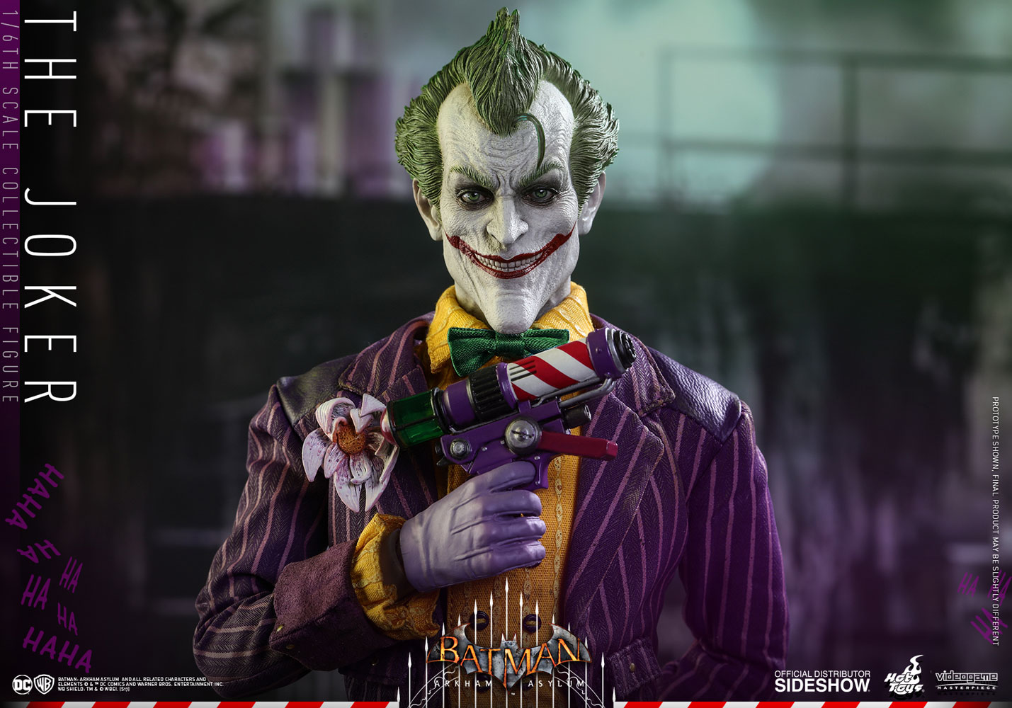 ... Hot Toys The Joker Sixth Scale Figure & DC Comics The Joker Sixth Scale Figure by Hot Toys | Sideshow ...