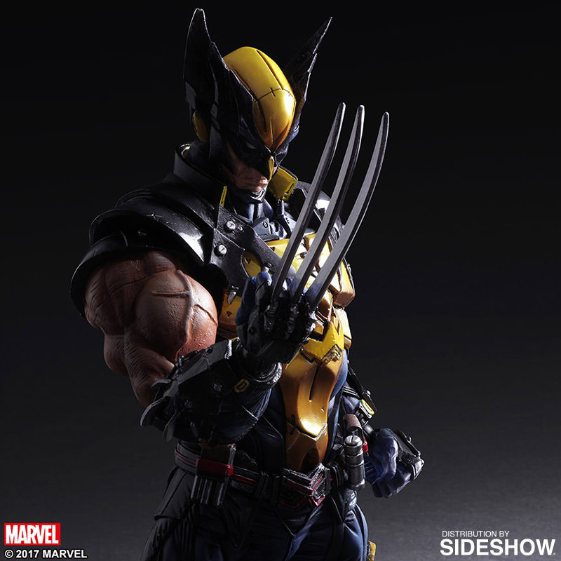Marvel wolverine collectible figure by square enix sideshow wolverine collectible figure prototype shown wolverine collectible figure voltagebd Images