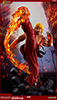 Ken Masters with Dragon Flame Statue