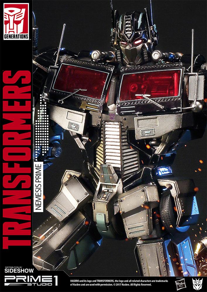 transformers nemesis prime transformers generation 1 statue