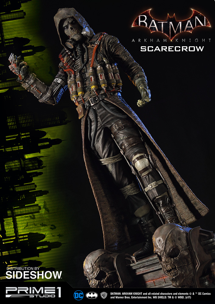 dc comics scarecrow statue by prime 1 studio sideshow collectibles