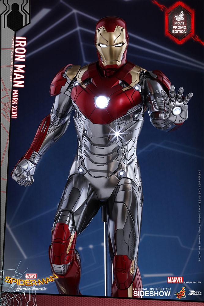 product announcement spider man version iron man suit pp