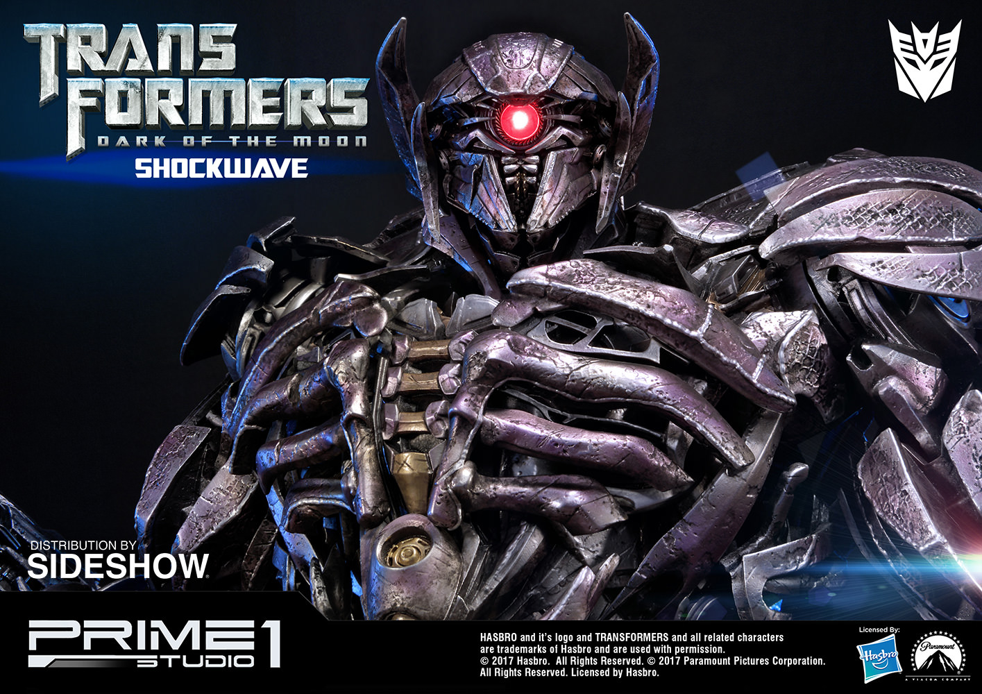 Transformers Shockwave Statue by Prime 1 Studio | Sideshow ...