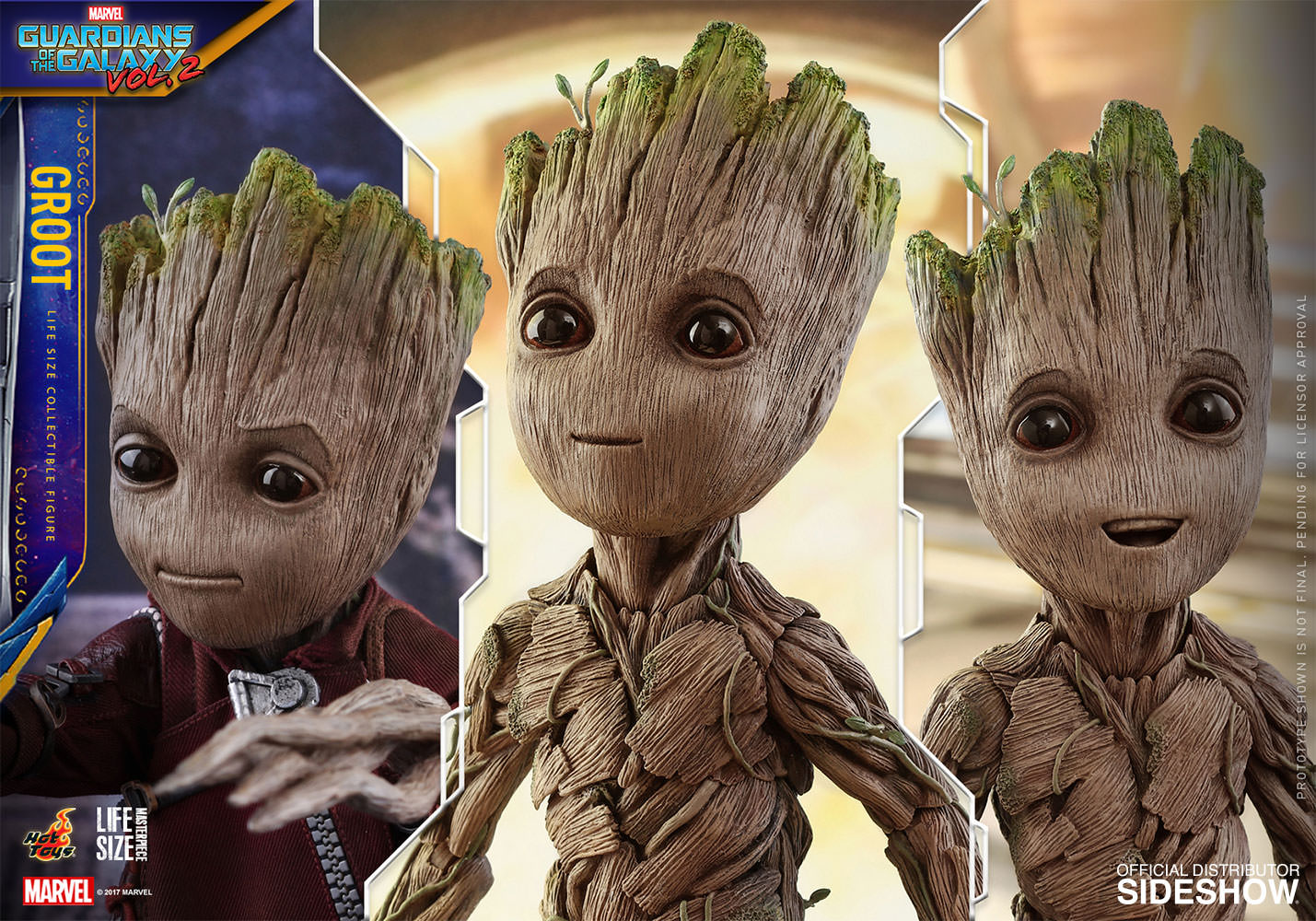 Marvel Groot Sixth Scale Figure by Hot Toys | Sideshow ...