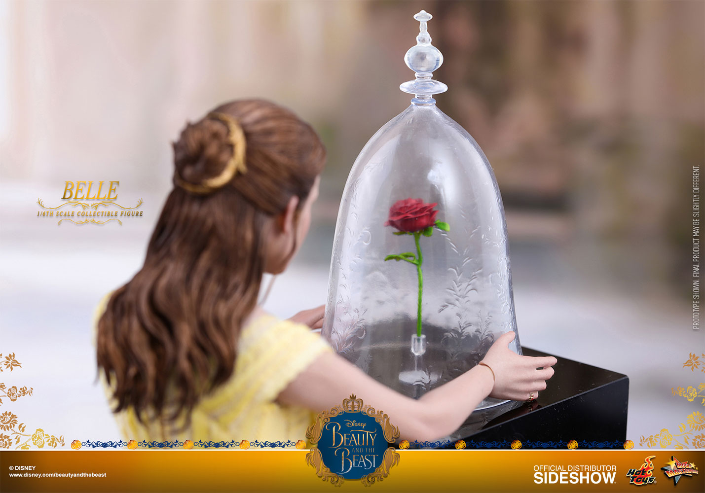 Disney belle sixth scale figure by hot toys sideshow collectibles izmirmasajfo