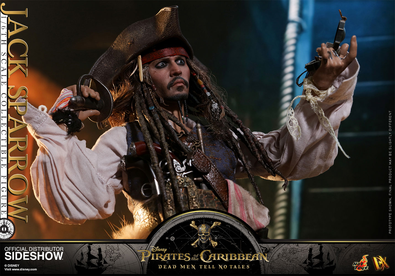 Caribbean Men: Disney Jack Sparrow Sixth Scale Figure By Hot Toys