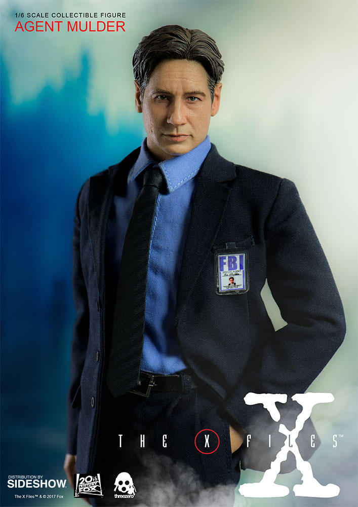 x files agent mulder sixth scale figure by threezero sideshow