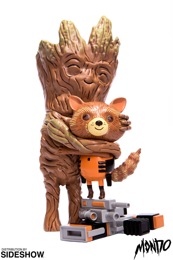 Marvel Rocket And Groot Treehugger Vinyl Collectible By