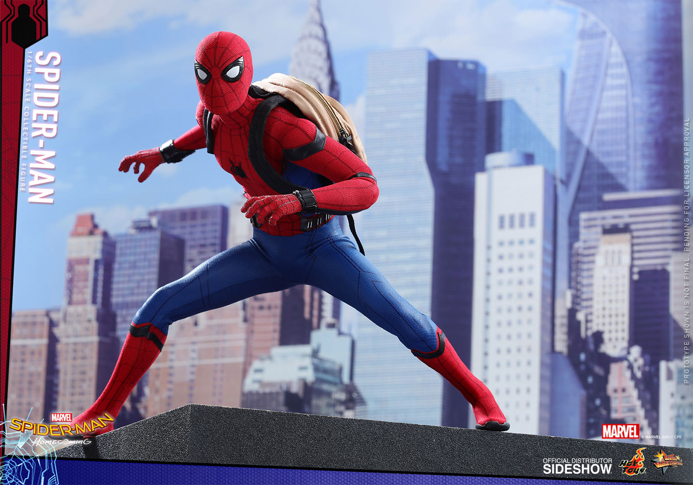 marvel spider man sixth scale figure by toys sideshow