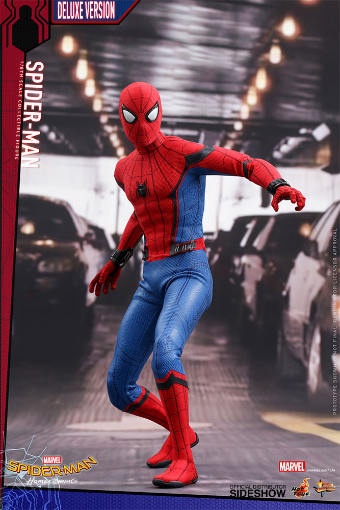 Spider Man Toys : Marvel spider man deluxe version sixth scale figure by hot