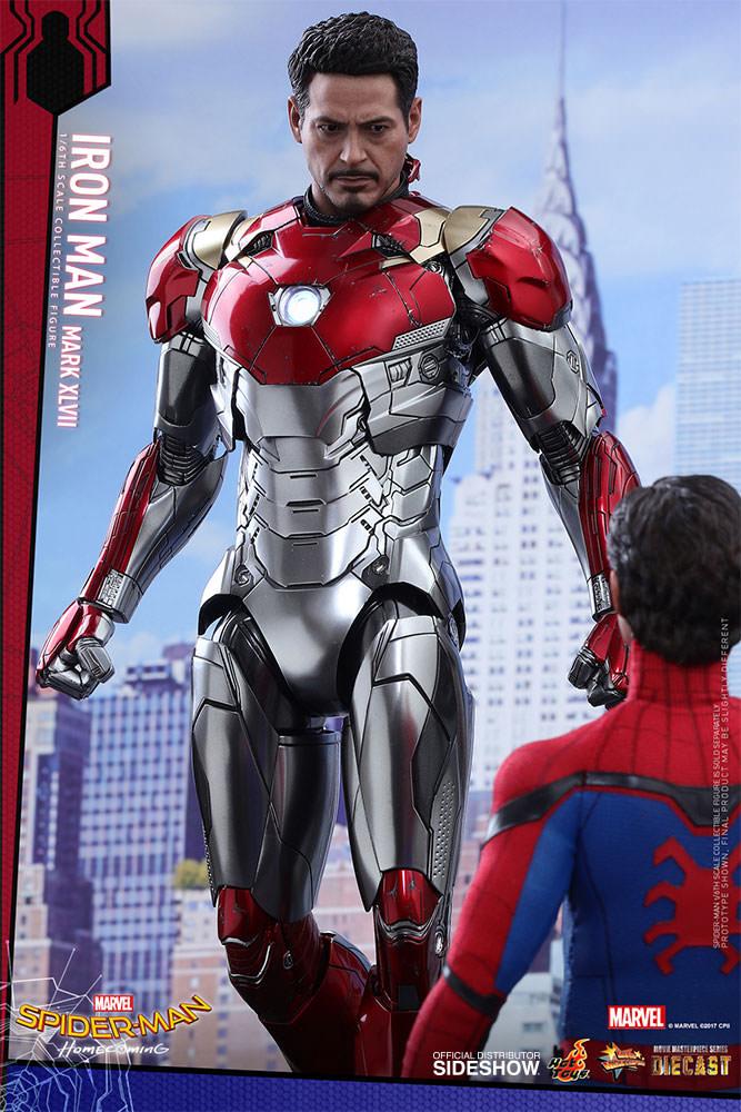 Spiderman Home Coming Iron Man Mark Xlvii Diecast