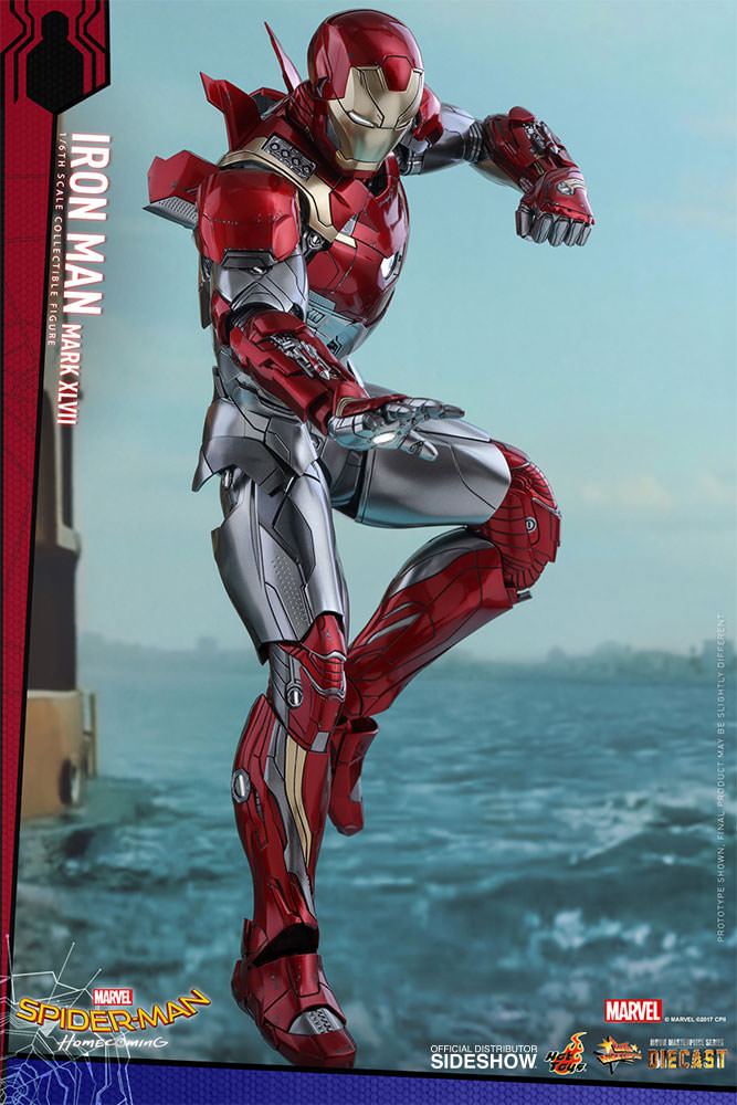 SPIDERMAN HOME COMING - IRON MAN  Mark XLVII (Diecast) Marvel-spider-man-homecoming-iron-man-mark-xlvii-sixth-scale-hot-toys-903079-12