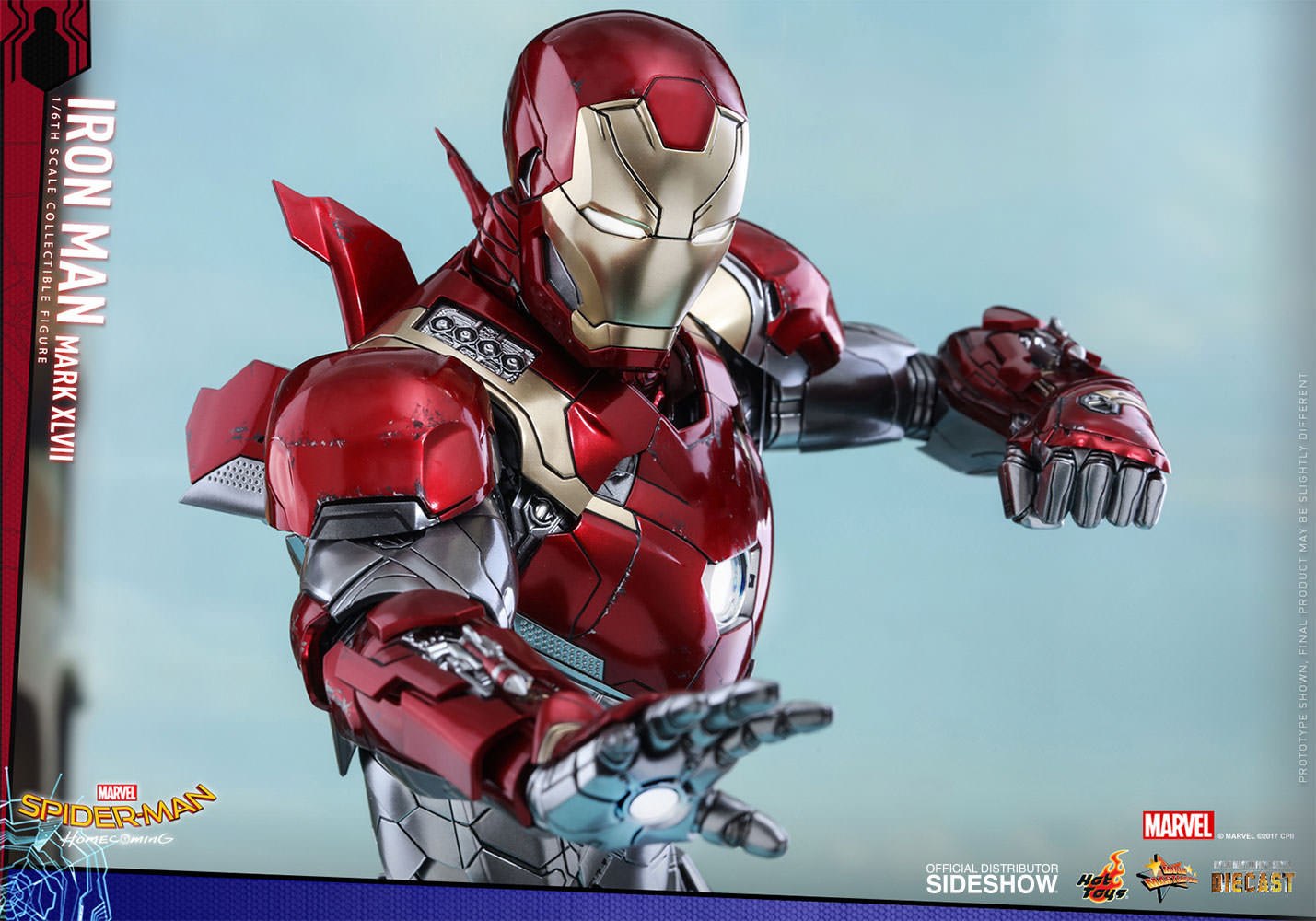 SPIDERMAN HOME COMING - IRON MAN  Mark XLVII (Diecast) Marvel-spider-man-homecoming-iron-man-mark-xlvii-sixth-scale-hot-toys-903079-18
