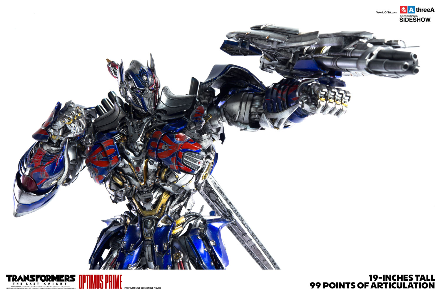 transformers optimus prime collectible figure by threea toys