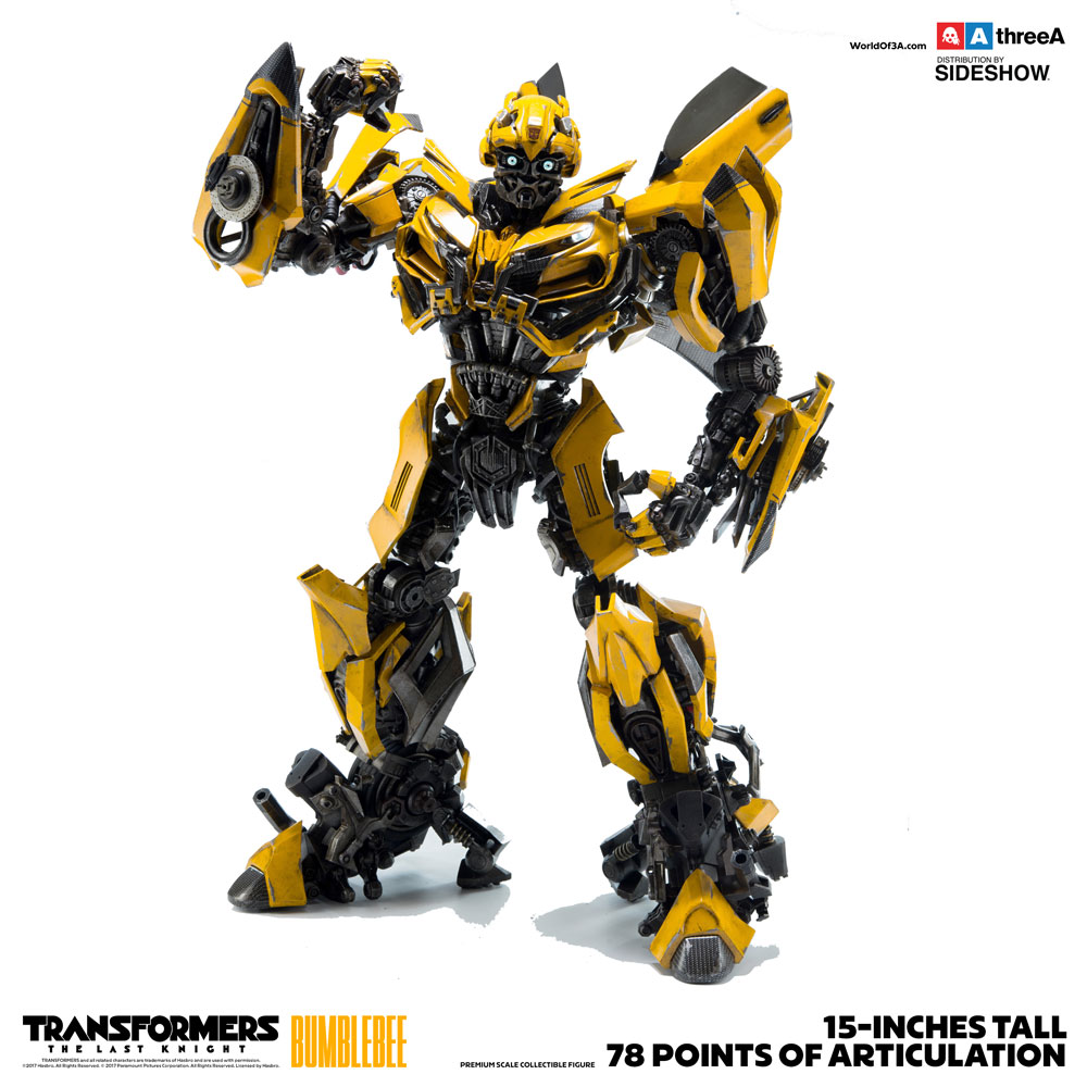 transformers bumblebee collectible figure by threea toys