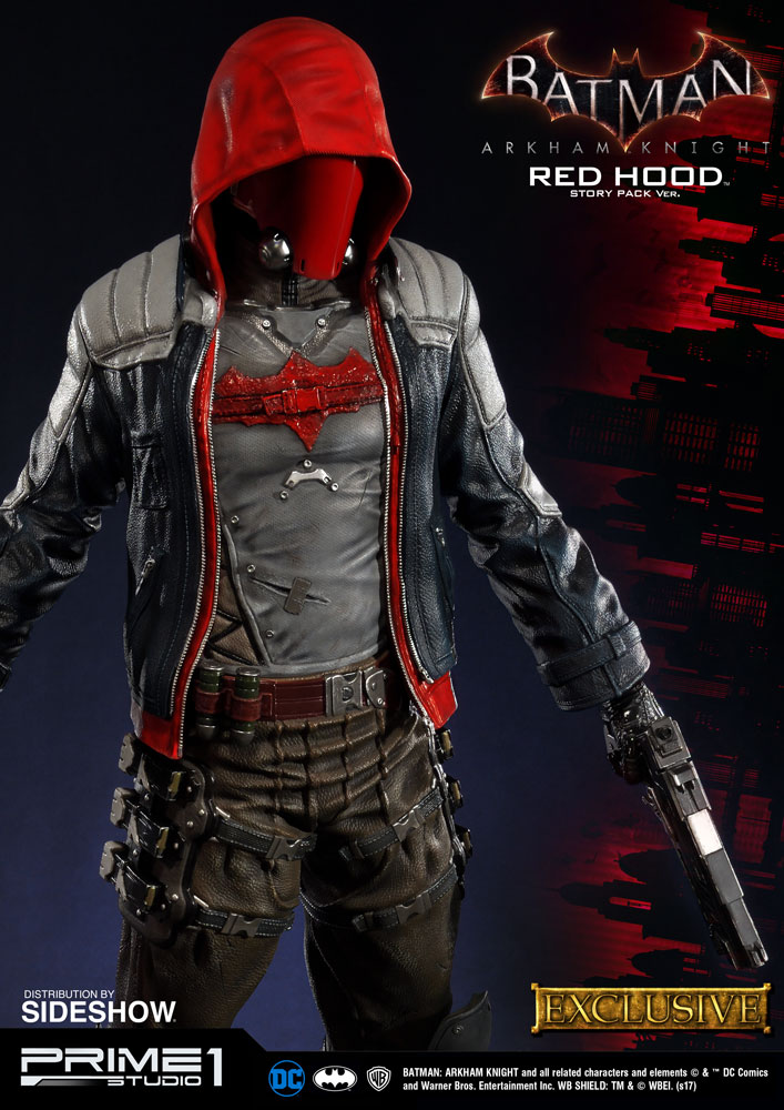 dc comics red hood story pack statue by prime 1 studio sideshow