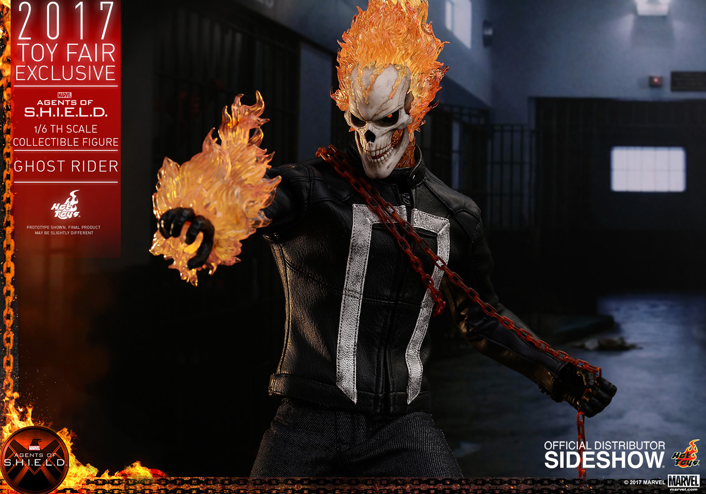 marvel ghost rider sixth scale figurehot toys | sideshow