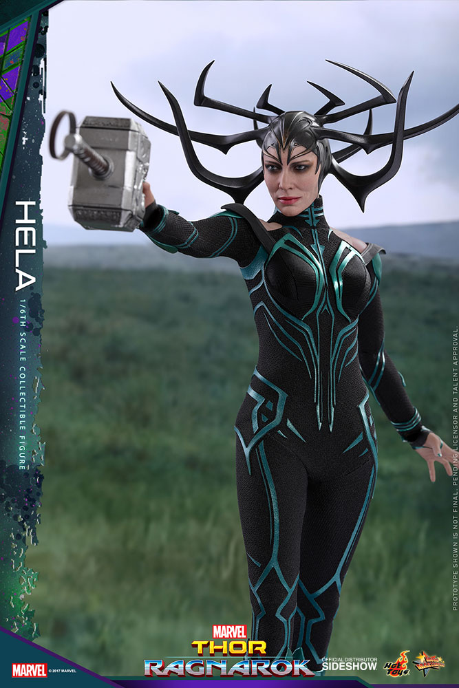 Marvel Hela Sixth Scale Figure By Hot Toys Sideshow Collectibles