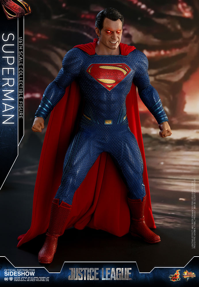 DC Comics Superman Sixth Scale Figure by Hot Toys Sideshow
