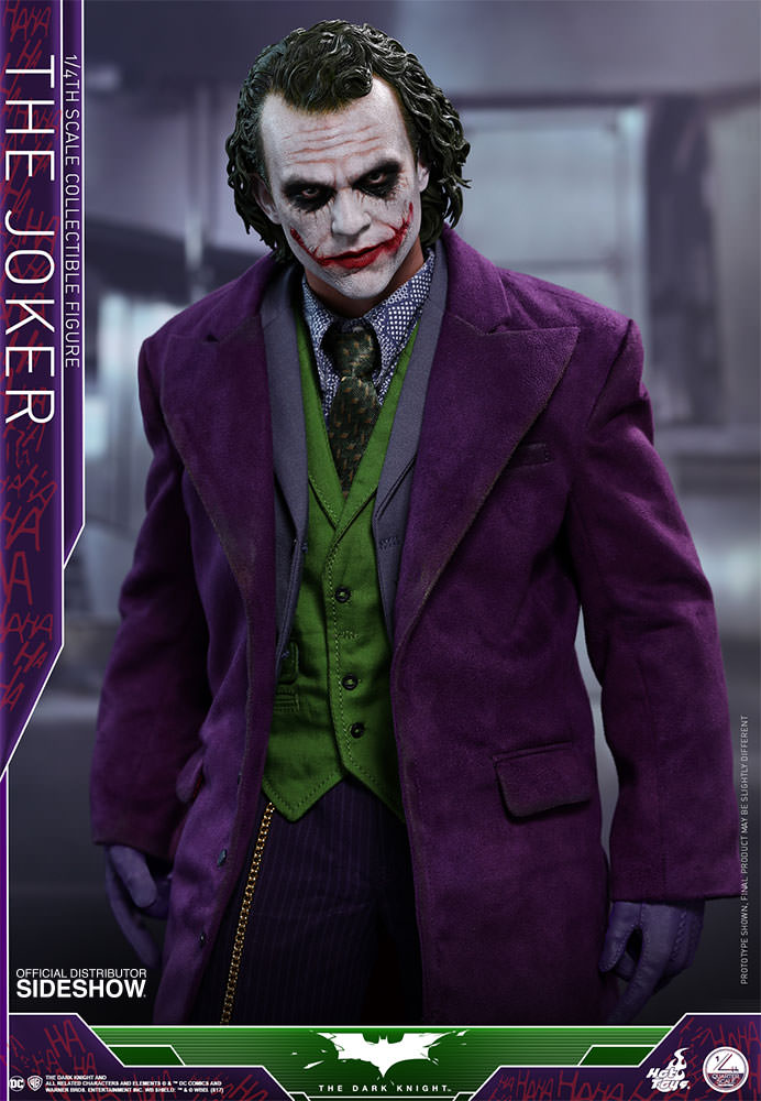 DC Comics The Joker Quarter Scale Figure by Hot Toys Sideshow