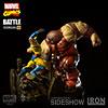 Wolverine vs Juggernaut Diorama