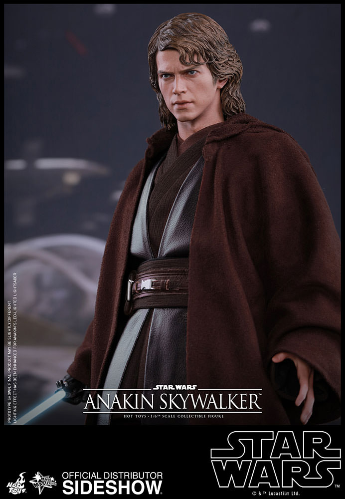 Anakin Skywalker Toys : Star wars anakin skywalker sixth scale figure by hot toys